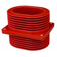 Wholesale Reliable Epoxy Resin Cast Bushing , 24kV Busbar Wall Through Bushing from china suppliers
