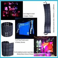 Wholesale Waterproof LED Display Panel Outdoor Curtain Screen P18.75 6500K 650 W / pcs from china suppliers