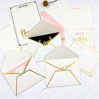 Wholesale Foldable Gift Card Hard Paper Envelope 0.12mm-0.4mm Thickness from china suppliers