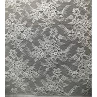 China Flower Design Pattern Nylon Corded Jacquard Lace Fabric By The Yard for sale