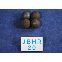 Custom Low Carbon Hot Rolled Steel Balls / Steel Grinding Ball Hight Hardness