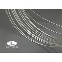 Solid Sterling Silver Sheet Long Electric Life / Electrical Copper Plated Wire