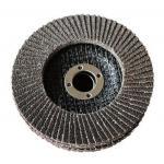China Calcined Aluminium Oxide Flap Disc Abrasive Blaze R980P Coarse Grit Center Mount Plastic Flat Flap Disc for sale