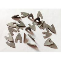 High Hardness YG8 Triangle Tungsten Carbide Tips For Ceramic Drill Bit for sale