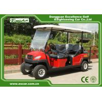 China 48V 3.7M Electric Battery Powered Golf Car , 4 Seater Buggy Car on sale