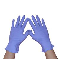 Wholesale Dental Nitrile Exam Gloves Powder Free Micro Texture Surface 240mm Length from china suppliers