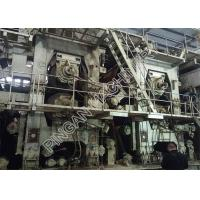 China Kraft Paper Small Scale Manufacturing Machines High Speed Open Headbox Type for sale