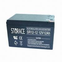 Buy cheap Rechargeable Sealed Battery with 12V Voltage and 12Ah Capacity, Maintenance-free from wholesalers