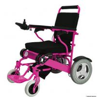 Lightweight Disabled Electric Wheelchair  Steel manual wheelchair with bedpan
