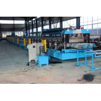 Quality 15KW X 3 Door Frame Making Machine , Stud And Track Roll Forming Machine 1.2 Inch Double Line for sale