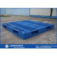 Wholesale 1 Ton Load Stackable Plastic Pallet 1200 X 1000mm HDPE Open Deck  Plastic Euro Pallets from china suppliers