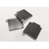 Buy cheap 2000mm Length Glass Sandblast Anodized Aluminum Parts Ra0.8 from wholesalers