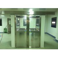 Best Three Side Blowing Stainless Steel Pharmaceutical Cleanroom Air Shower System 380V 60HZ wholesale