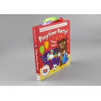 China 250gsm 2mm Multilingual Hardcover Children'S Books With Colorful Letters on sale