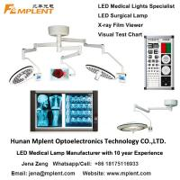 ZW-700/500D Double Dome Operation Theater Light High Brightness Shadowless LED Surgical Lamp for sale