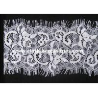 Wholesale Lavalliere Dress Ivory Stretch Crochet Lace Trimming Wide 100% Nylon from china suppliers