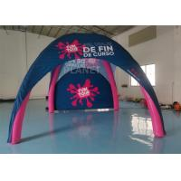 Buy cheap Pink Portable Oxford 2.5x2.5x2.3m Advertising Inflatable Tent from wholesalers