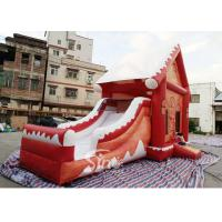 Buy cheap Commercial grade inflatable Christmas jumping castle with slide for kids and from wholesalers
