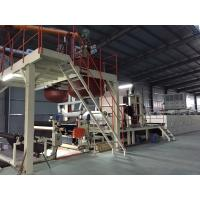 Bitumen Backed Carpet Tiles Production Line Contious With Slitting Cutter