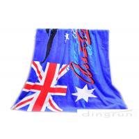 "30""*60"" Velour Custom Printed Beach Towels With Australian Flag"