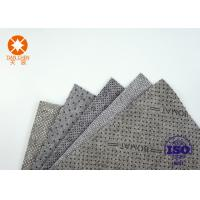 China CE Approval Non Slip Underlayment Felts PVC Coated 4m Width With Black / White Dots on sale