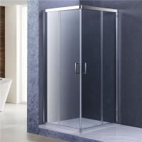 Best 8mm Glass Bathroom Shower Enclosure, 1900MM height Corner Entry Cubicle wholesale