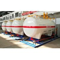 Wholesale 10CBM / 10000 Liters LPG Gas Storage Tank With Dispenser Equipments And Scales from china suppliers