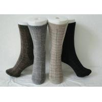Wholesale Black Thermal Men Angora Wool Socks Spots Pattern For Winter from china suppliers