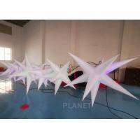 Wholesale Oxford Cloth LED Inflatable Star With Color Light For Event Decoration from china suppliers