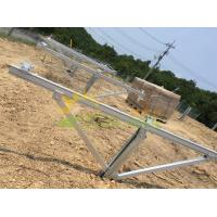 Wholesale Solar Pile Ground Mounting System Custom Size Simple Functional Design from china suppliers