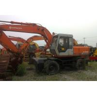 Wholesale Used wheel excavator Hitachi EX160WD-1 from china suppliers