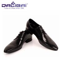 Wholesale DALIBAI Luxury Pointed Toe Men Leather Dress Shoes Classic Business Shoes from china suppliers