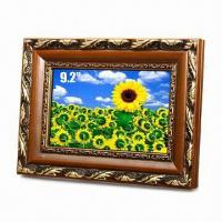 Wholesale 9.2-inch Digital Photo Frame with Landscape or Portrait Stand from china suppliers