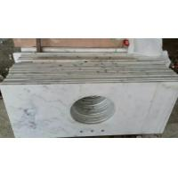 Marble Bathroom Tops to Guangxi White Marble Vanity Tops China Carrara Marble Countertop for sale