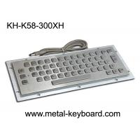China IP65 Panel Mounted Keyboard 58 Keys Durable For Kiosk CNC Ticket Vending Machine for sale