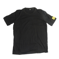 Wholesale CE SGS 80 Times Washing Black ESD Polo Shirts from china suppliers