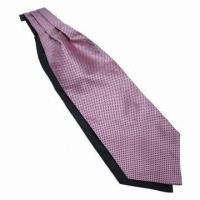 China Silk Jacquard Cravat Tie, Measures 125 x 12cm, Machine-made  for sale