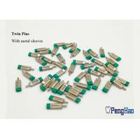 China Green Rubber Cap Dental Dowel Pins , Precise Fitting Locating Dowel Pins on sale