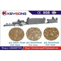 Wholesale Automatic Fish Feed Production Machine , Fish Feed Pellet Machine Energy Saving from china suppliers