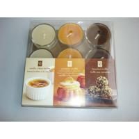 9pk scented tealight candle with gift box package,3 color mixed for sale