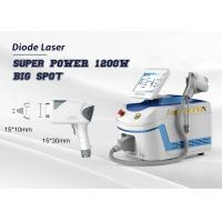 China Super Power Facial Hair Removal Machine 1200W Diode Laser Depilation Big Spot Size for sale
