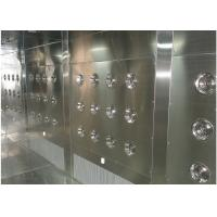 Customized Air Shower Tunnel With Automatic Sliding Door And PLC Control System