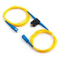 Buy cheap FC ST LC SC Fiber Variable Optical Attenuator 0~50DB FC ST LC SC Single Mode from wholesalers