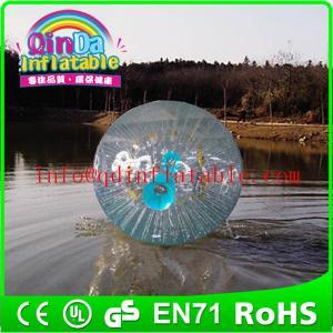 China Aqua zorbing ball inflatable zorb ball human hamster balls for adult on sale