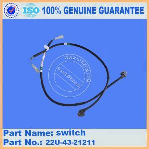 Excavator Original PC200-8 operator component switch 22U-43-21211 best quality part