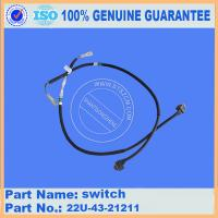 Quality Excavator Original PC200-8 operator component switch 22U-43-21211 best quality part for sale
