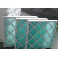 China Air Flow Mini Cardboard Air Filter , F7 Paper Frame Pleated Air Conditioner Filters on sale