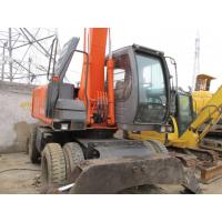 Wholesale SECOND HAND EXCAVATOR HITACHI ZX160W,USED WHEEL EXCAVATOR from china suppliers