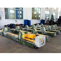 Wholesale 65000lbs Double Motor Pipe Welding Rotator , Foot Pedal Control , 30 Ton Pipe Welding Rotator from china suppliers