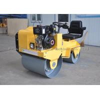Ride-On Double Drum Vibratory Road Roller With Hydraulic Transmission
